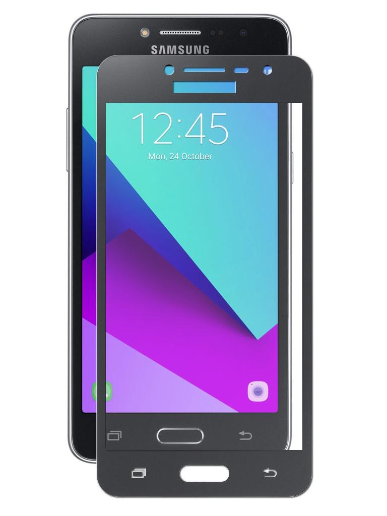 Защитное стекло Dekken для Samsung Galaxy J2 Prime Full Screen Glue 2.5D 9H 0.33mm Black Frame 20933