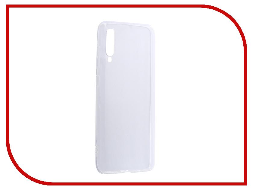 Аксессуар Чехол Svekla для Samsung Galaxy A70 A705FD Silicone Transparent SV-SGA705FD-WH