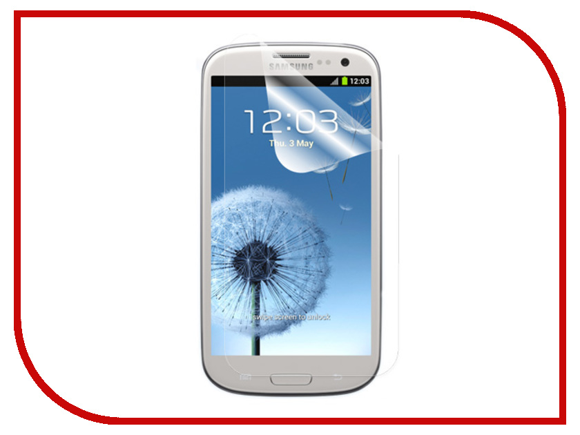 ��������� �������� ������ Samsung GT-i9300 Galaxy S III Ainy / Media Gadget Premium / Red Line �������