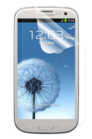 Аксессуар Защитная пленка Samsung GT-i9300 Galaxy S III Ainy / Media Gadget Premium / Red Line глянцевая