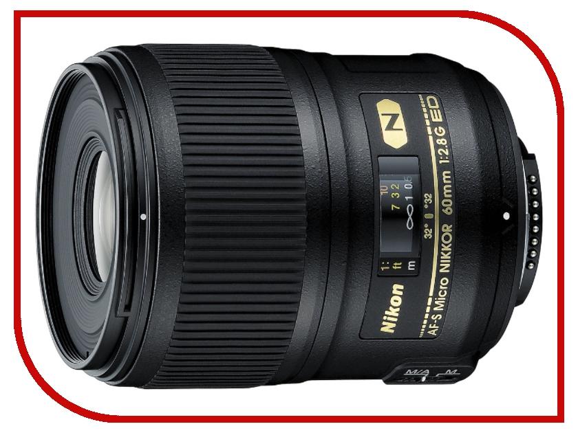 Объектив Nikon Nikkor AF-S 60 mm f/2.8 G ED Micro<br>