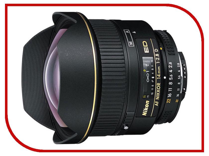Объектив Nikon Nikkor AF 14 mm F/2.8 D ED<br>