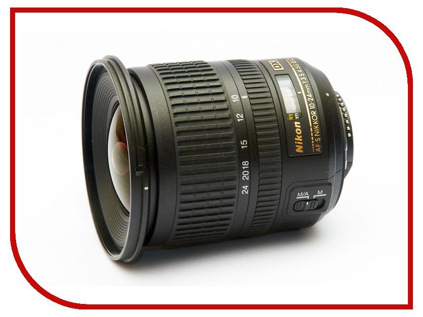 Объектив Nikon Nikkor AF-S 10-24 mm F3.5-4.5G ED DX<br>
