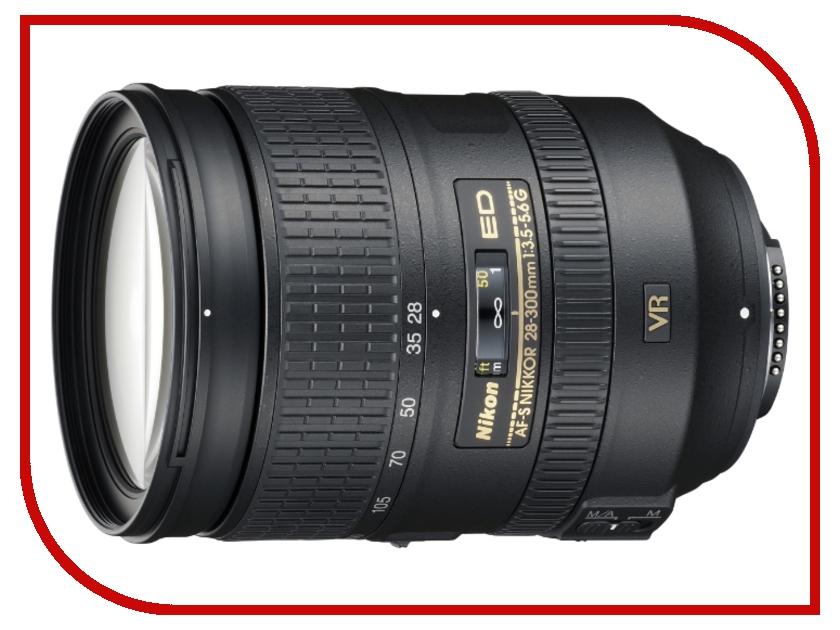 Объектив Nikon Nikkor AF-S 28-300 mm F/3.5-5.6 G ED VR
