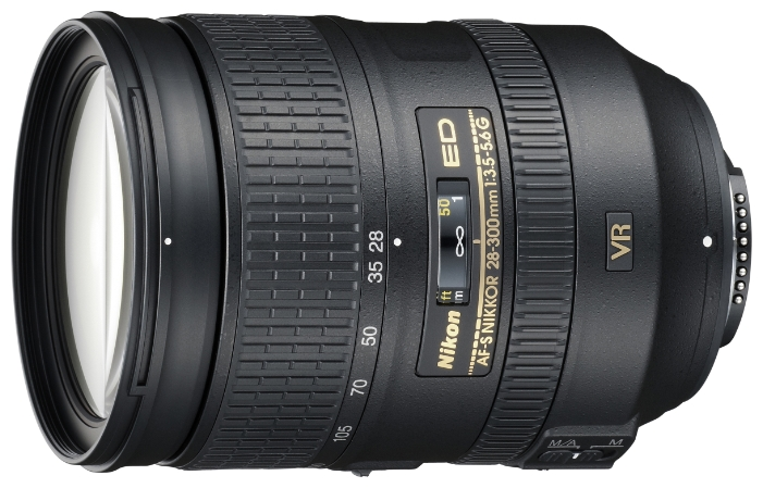 Фото - Объектив Nikon Nikkor AF-S 28-300 mm F/3.5-5.6 G ED VR объектив nikon 18 35mm f 3 5 4 5 ed af s nikkor nikon f черный [jaa818da]