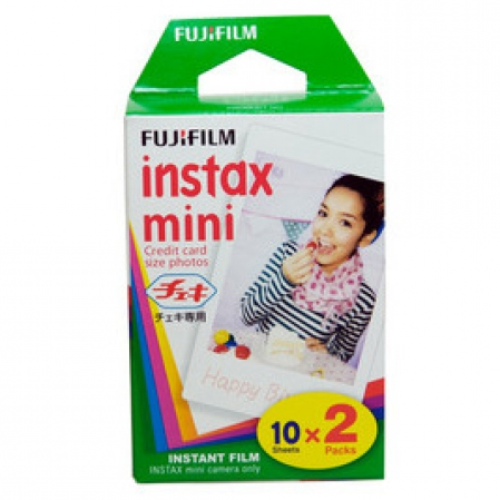 Fujifilm Glossy 10/2PK для Instax mini 8/7S/25/50S/90 / Polaroid 300 Instant 16386016 / 16567828 original fujifilm 10 sheets instax mini stripe instant film photo paper for instax mini 8 7s 25 50s 90 9 sp 1 sp 2 camera