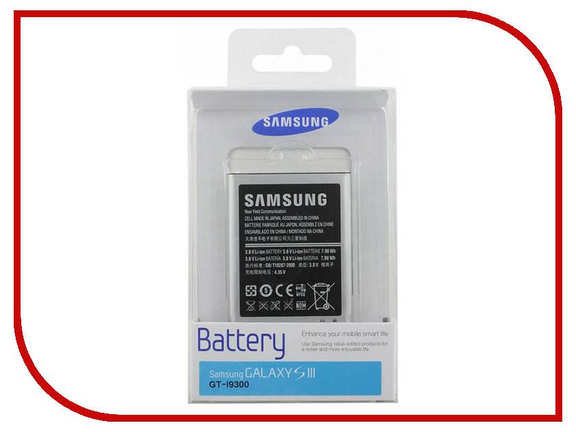Аксессуар Аккумулятор Samsung EB-L1G6LLUCSTD i9300 Galaxy S III<br>