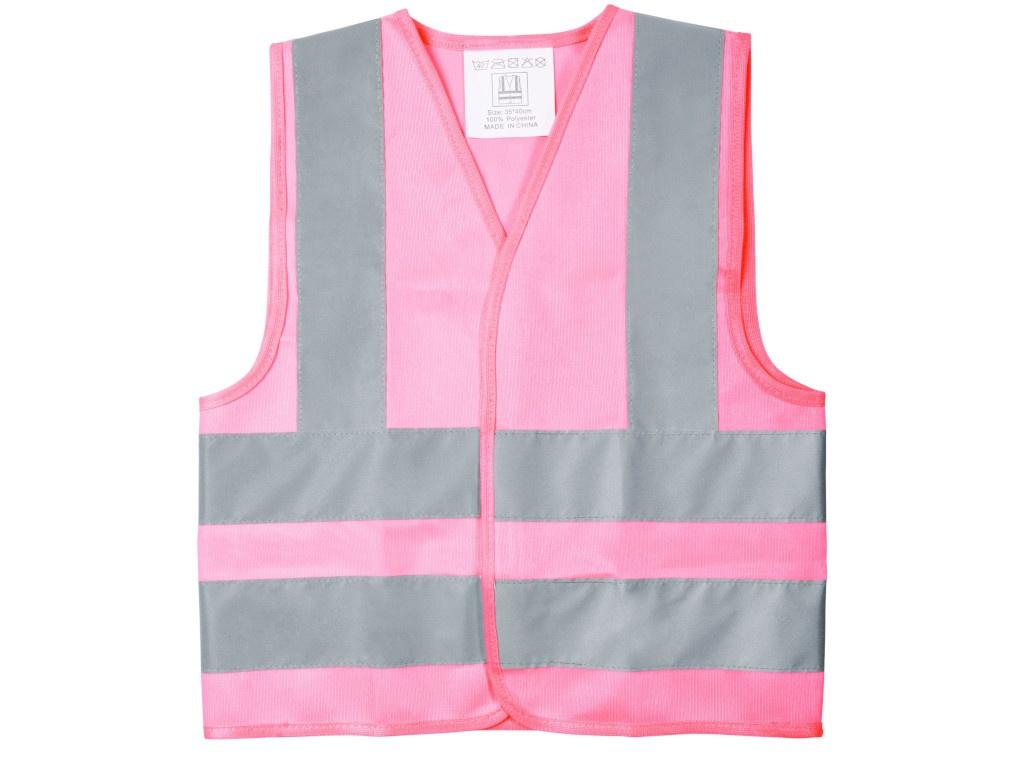 Жилет светоотражающий детский Проект 111 Glow Pink 6688.151 размер S