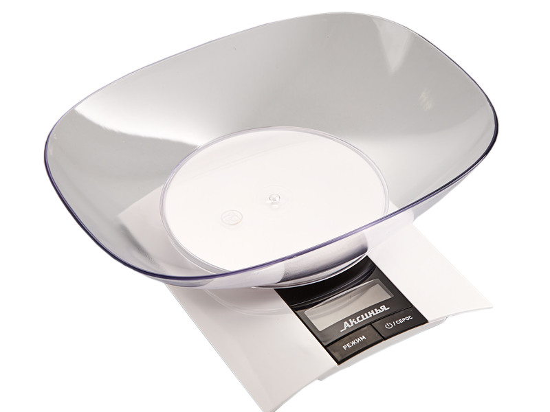 Весы Аксинья КС-6505 White
