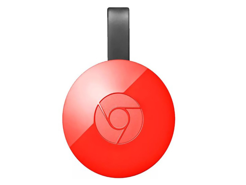 Медиаплеер Google Chromecast 2.0 Red