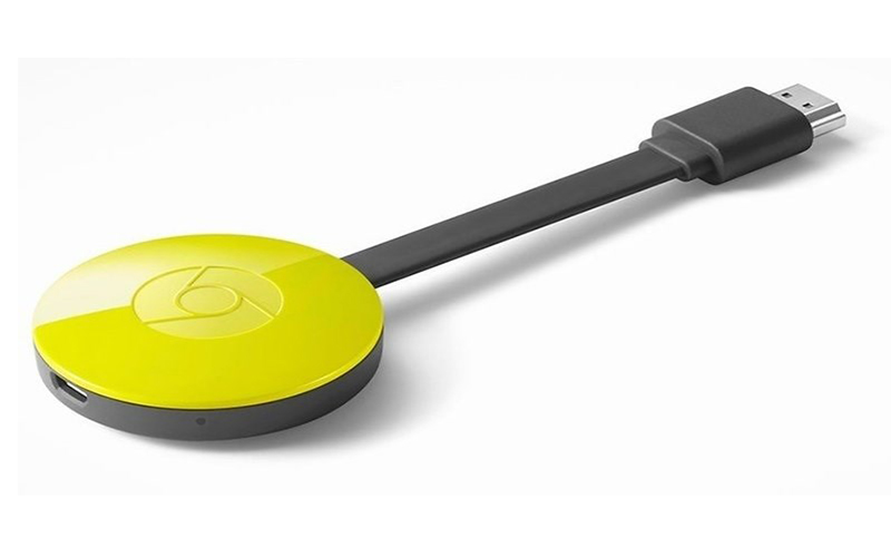 Медиаплеер Google Chromecast 2.0 Yellow