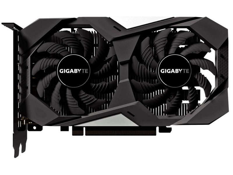 Видеокарта GigaByte GeForce GTX 1650 1710Mhz PCI-E 3.0 4096Mb 8002Mhz 128 bit 2xHDMI DP GV-N1650OC-4GD цена и фото