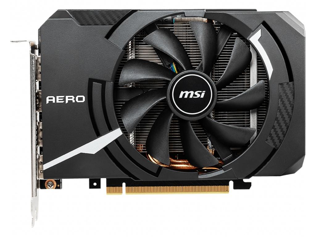 Видеокарта MSI GeForce RTX 2060 1710Mhz PCI-E 3.0 6144Mb 14000Mhz 192 bit HDMI 3xDP AERO ITX 6G OC