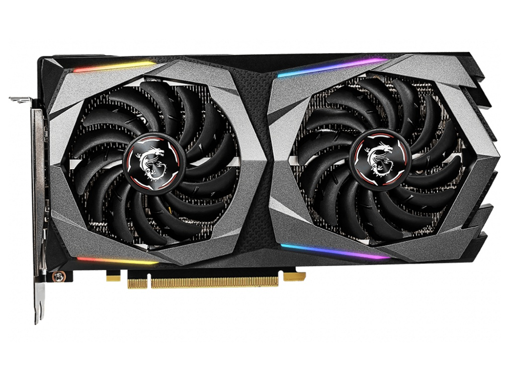 Видеокарта MSI GeForce RTX 2060 1680Mhz PCI-E 3.0 6144Mb 14000Mhz 192 bit HDMI 3xDP GAMING 6G