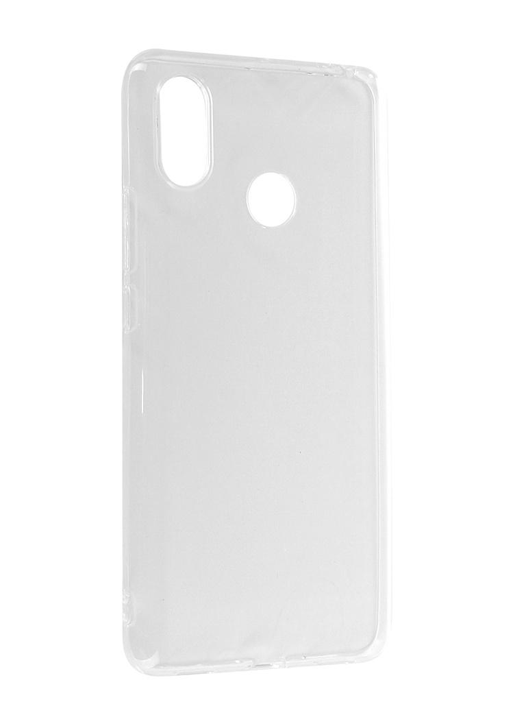 Аксессуар Чехол Liberty Project Silicone для Xiaomi Mi Max 3 TPU Transparent 0L-00041584