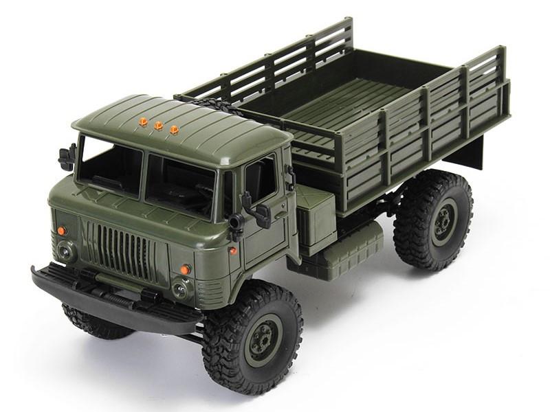 Радиоуправляемая игрушка Aosenma Offroad Truck 4WD 1:16 Green WPLB-24K