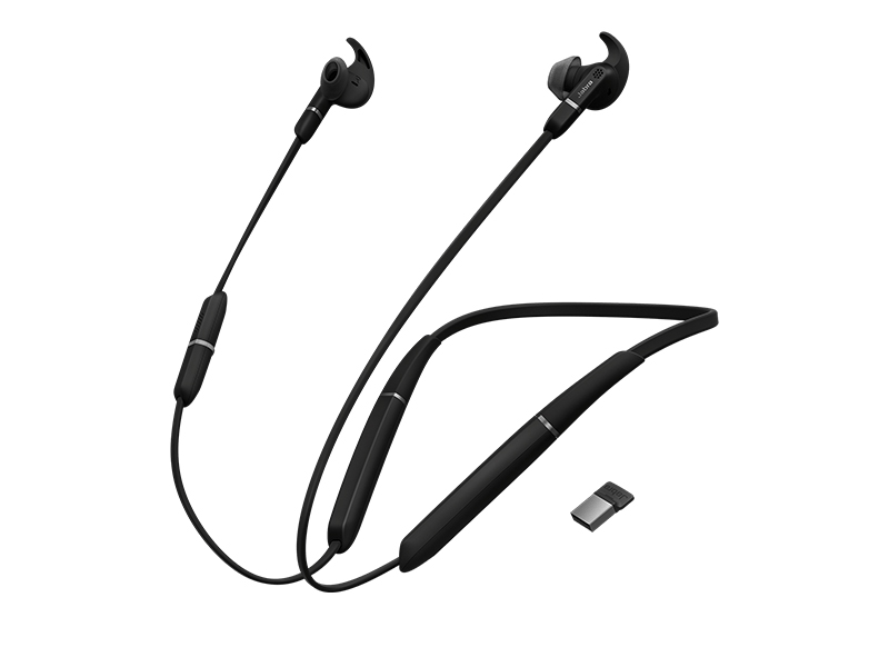 Jabra Evolve 65e MS & Link 370 Black 6599-623-109
