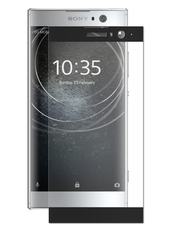 Аксессуар Защитное стекло Mobius для Sony Xperia XA2 Ultra 3D Full Cover Black 4232-240 engraver electric stavr mg 200 vg