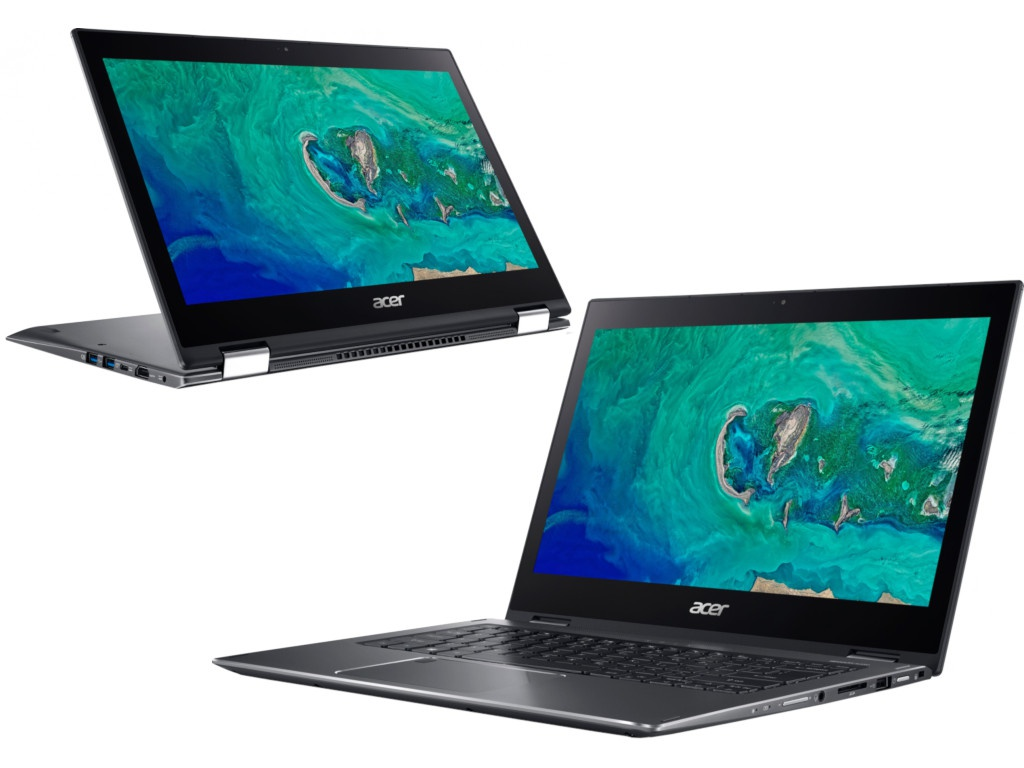 Ноутбук Acer Spin 5 SP513-53N-70SQ NX.H62ER.007 (Intel Core i7-8565U 1.8 GHz/8192Mb/256Gb SSD/No ODD/Intel HD Graphics/Wi-Fi/Bluetooth/13.3/1920x1080/Touchscreen/Windows 10 64-bit) цена
