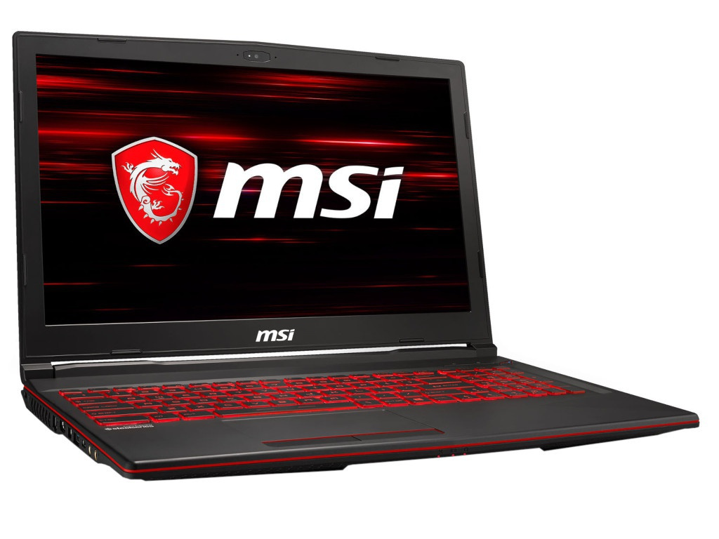 Ноутбук MSI GL63 8RE-845XRU 9S7-16P532-845 (Intel Core i7-8750H 2.2 GHz/8192Mb/1000Gb + 128Gb SSD/No ODD/nVidia GeForce GTX 1060 6144Mb/Wi-Fi/Bluetooth/15.6/1920x1080/DOS)