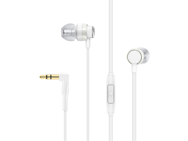Наушники Sennheiser CX 300S White наушники sennheiser cx 350 bt white