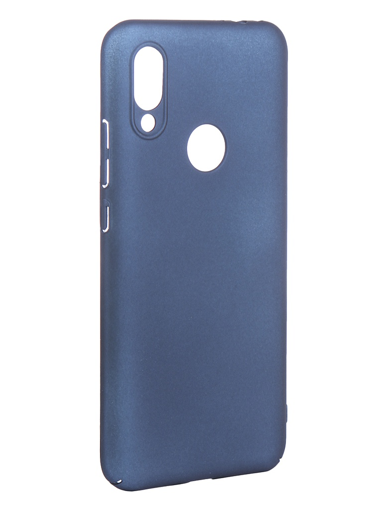 Аксессуар Чехол Neypo для Xiaomi Redmi 7 Soft Touch Blue ST11868