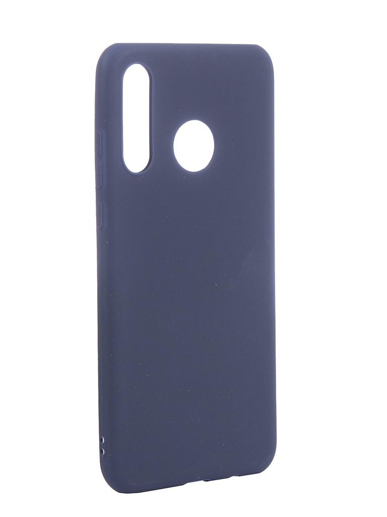 Чехол Neypo для Huawei P30 Lite Soft Matte Silicone Dark Blue NST11249