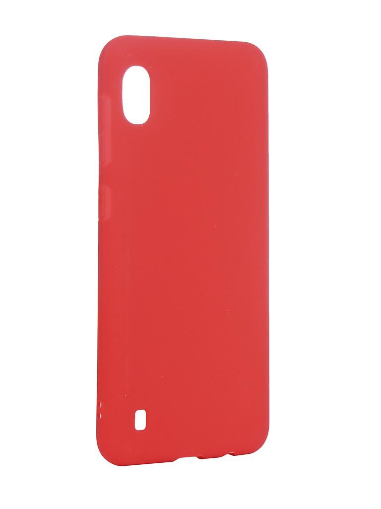 Аксессуар Чехол Neypo для Samsung Galaxy A10 2019 Soft Matte Silicone Red NST11679