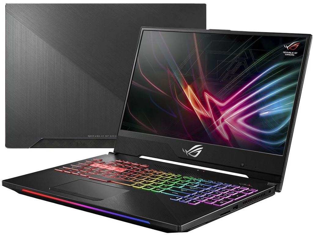 Ноутбук ASUS ROG GL504GM-ES386 90NR00K2-M08570 (Intel Core i7-8750H 2.2GHz/16384Mb/512Gb SSD/No ODD/nVidia GeForce GTX 1060 6144Mb/Wi-Fi/15.6/1920x1080/No OS)