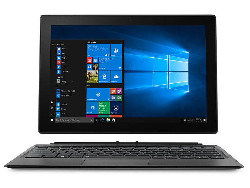 Планшет Lenovo MIIX 520-12IKB 81CG01NURU (Intel Core i5-8250U 1.6GHz/8192Mb/256Gb/Intel UHD Graphics 620/Wi-Fi/Bluetooth/Cam/12.2/1920x1200/Windows 10 Home)