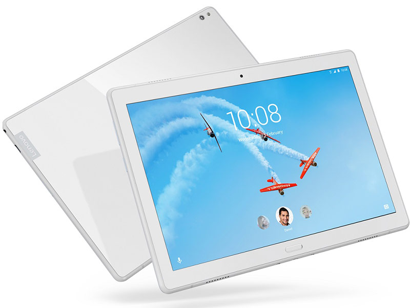 Планшет Lenovo Tab P10 TB-X705L LTE White ZA450047RU (Qualcomm Snapdragon 450 1.8 GHz/4096Mb/64Gb/GPS/LTE/3G/Wi-Fi/Bluetooth/Cam/10.1/1920x1200/Android) планшет samsung sm t835 galaxy tab s4 10 5 64gb lte silver sm t835nzaaser qualcomm snapdragon 835 2 35 ghz 4096mb 64gb lte wi fi bluetooth cam 10 5 2560x1600 android