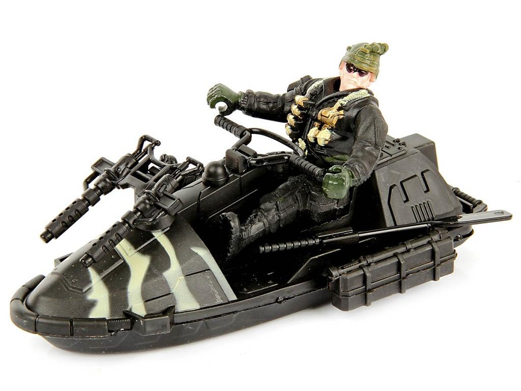 Набор Veld-Co Военный с гидроциклом 61266