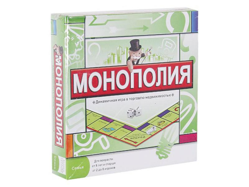 Настольная игра MSN Trading Limited Монополия 7158