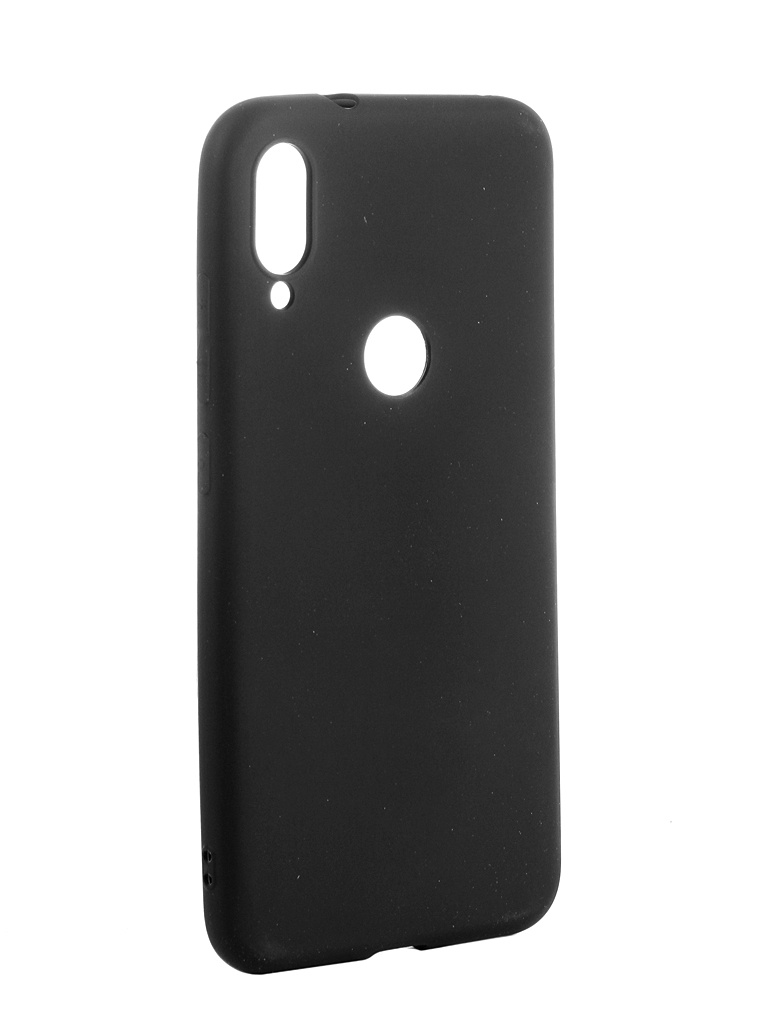 Чехол Zibelino для Xiaomi Mi Play 2019 Soft Matte Black ZSM-XIA-PLAY-BLK все цены