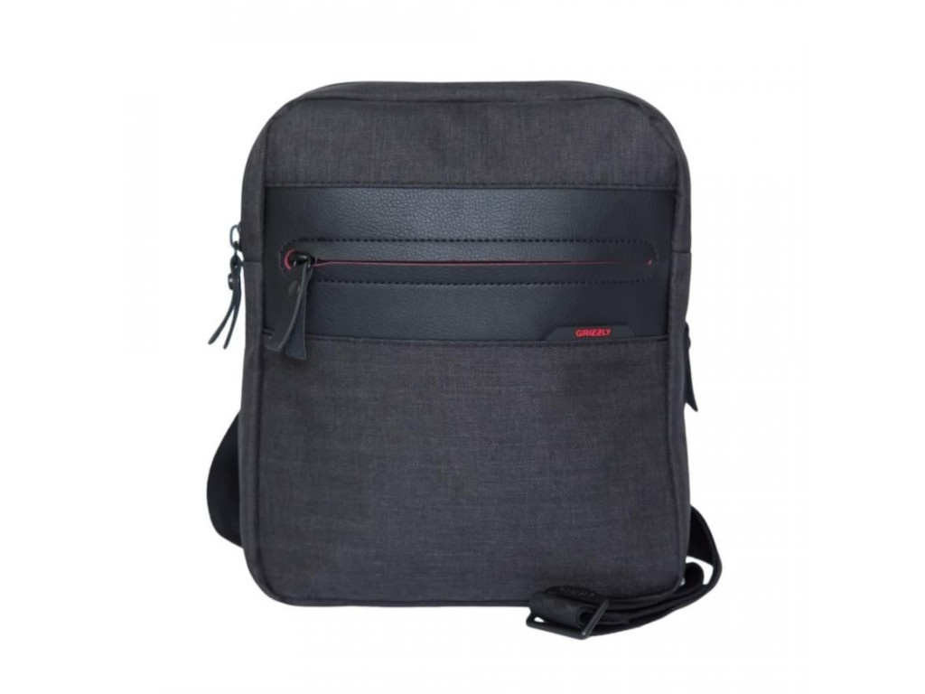 Сумка Grizzly MM-820-3 Black-Red