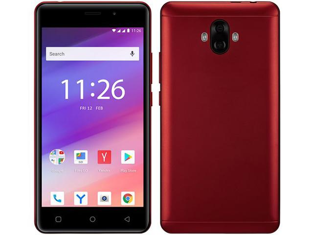 Сотовый телефон Prestigio Wize V3 Red