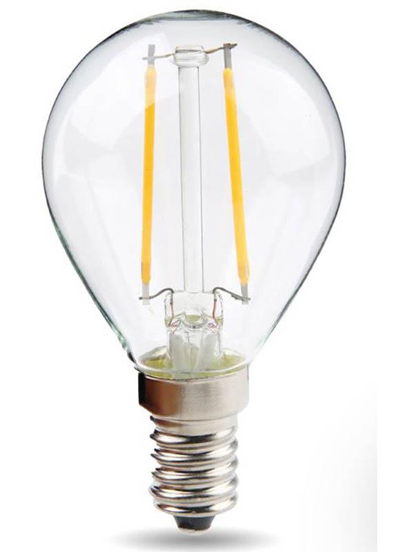 Лампочка Rev DECO Premium Filament шарик G45 E14 7W 2700K 650Lm Warm Light 32482 9