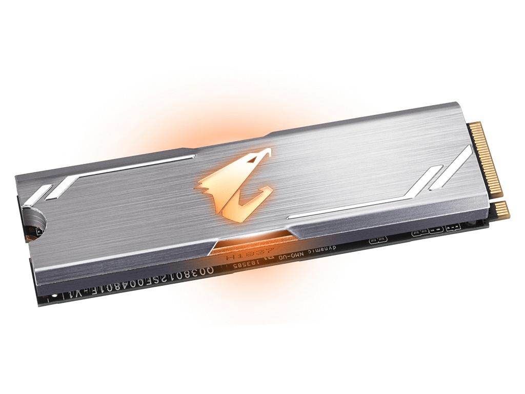 Твердотельный накопитель GigaByte Aorus 512Gb RGB GP-ASM2NE2512GTTDR