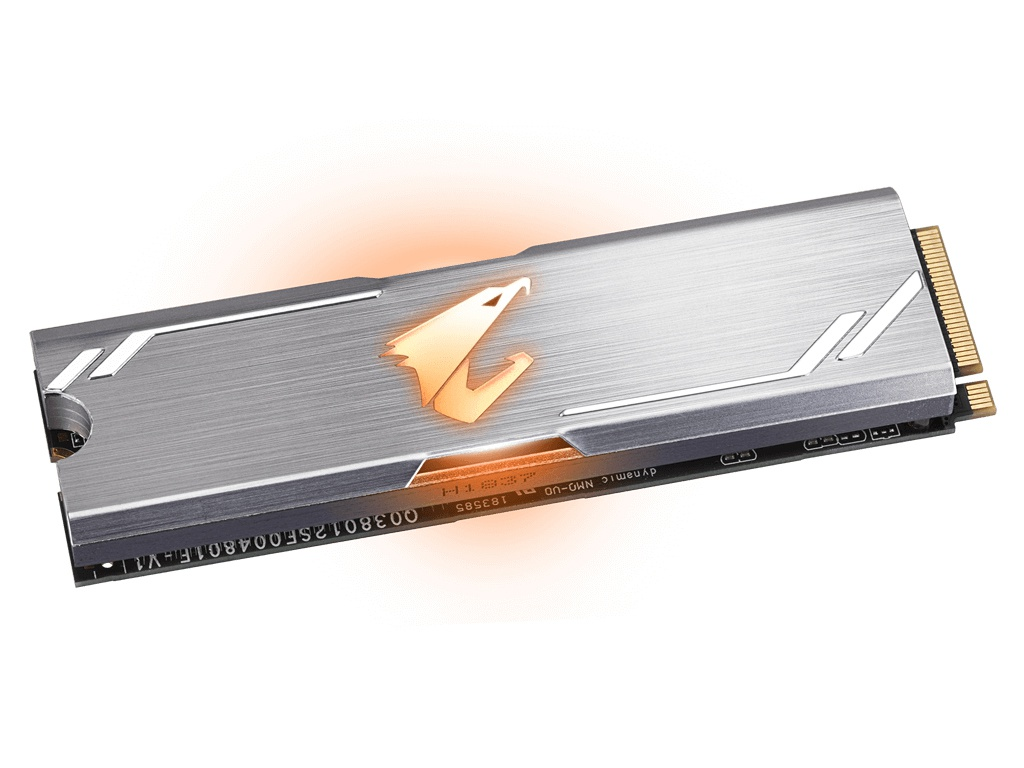 Жесткий диск GigaByte Aorus 256Gb RGB GP-ASM2NE2256GTTDR