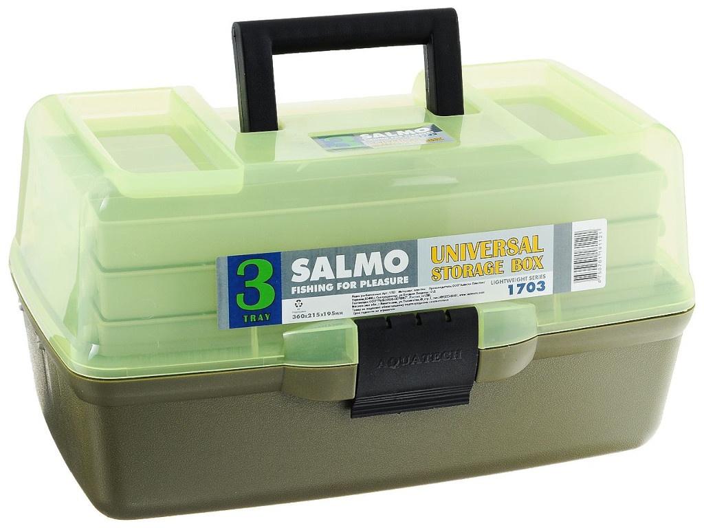 Рыболовный ящик Salmo 3х полочный 03 мал. 1703 цена