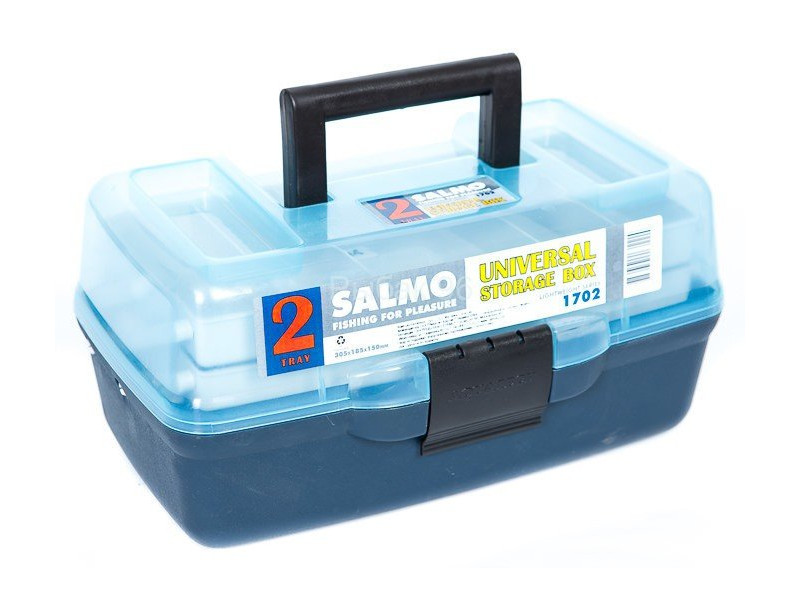 Рыболовный ящик Salmo 2х полочный 02 мал. 1702 цена