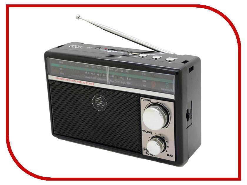 Радиоприемник Econ ERP-2500UR Black