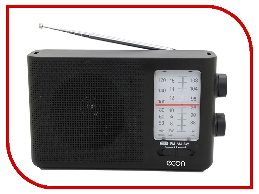Радиоприемник Econ ERP-1400 Black