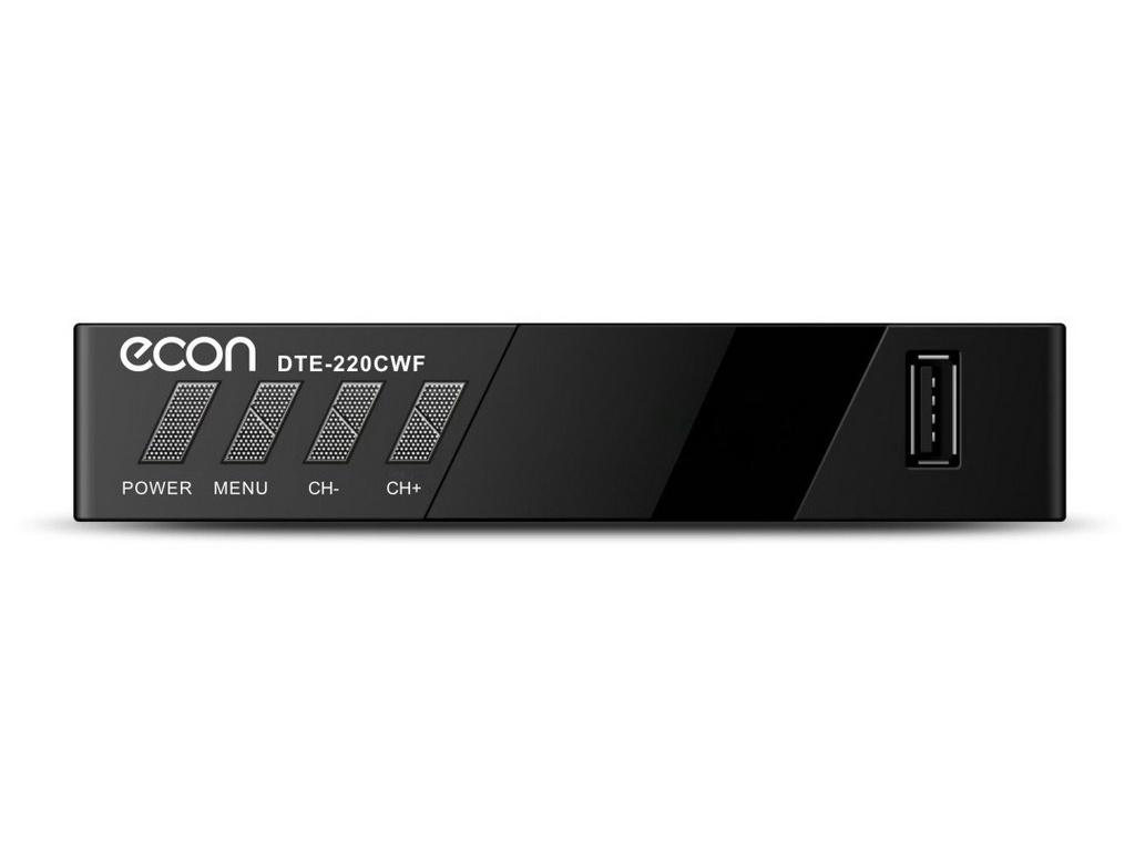 ECON DTE-220CWF Black