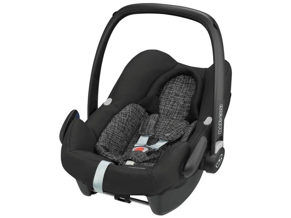 Автокресло Maxi-Cosi Rock Black Grid 8555725160 цена