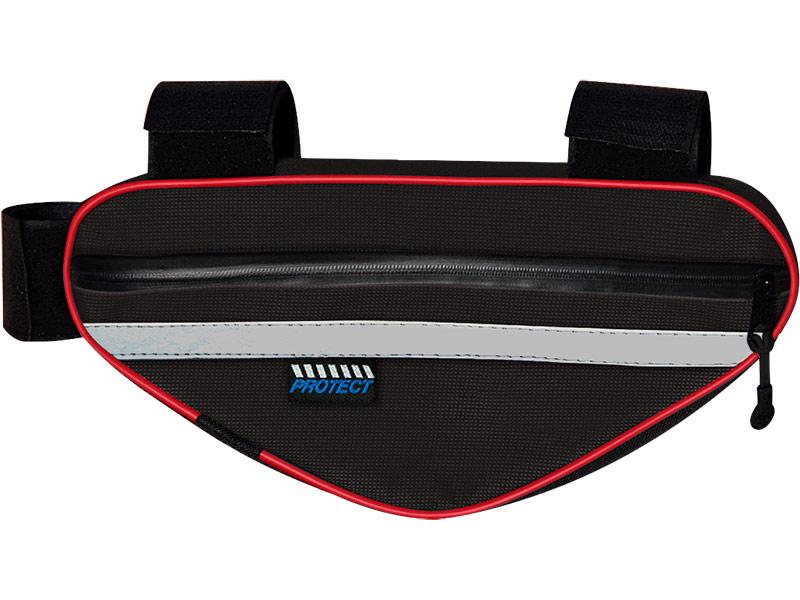 Велосумка Protect 22x12x4cm Black 555-540 protect flim 6av7 872 2 for panel pc 677 b