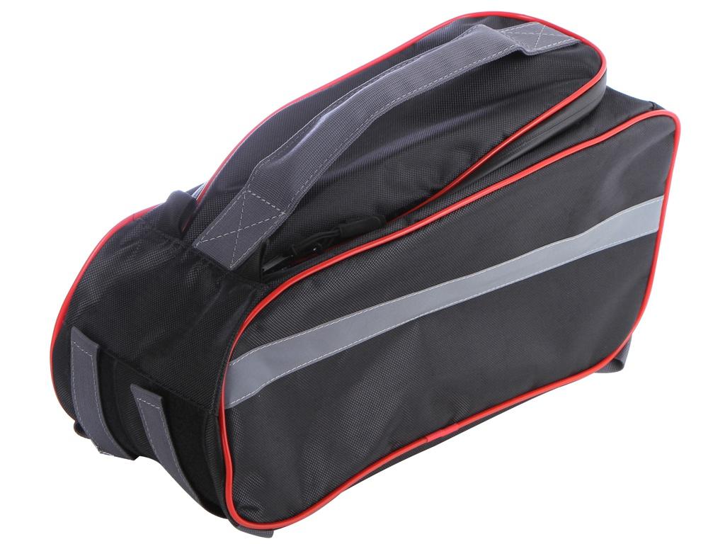 Велосумка Protect 40x20x17cm Black-Red 555-544