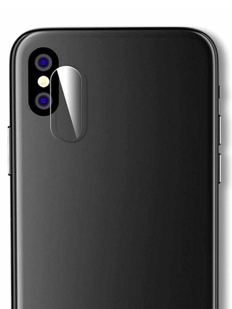 Аксессуар Защитное стекло на заднюю камеру Krutoff для APPLE iPhone XS Max Back 02812 аксессуар защитное стекло fst ag5 c3 для canon 6d markii