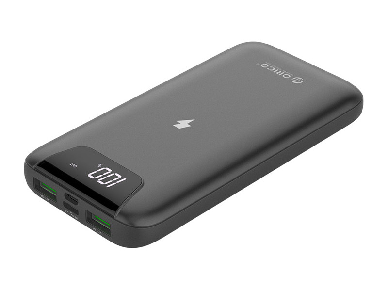 Внешний аккумулятор Orico Power Bank Firefly WR10 10000mAh Grey FIREFLY-WR10-GY