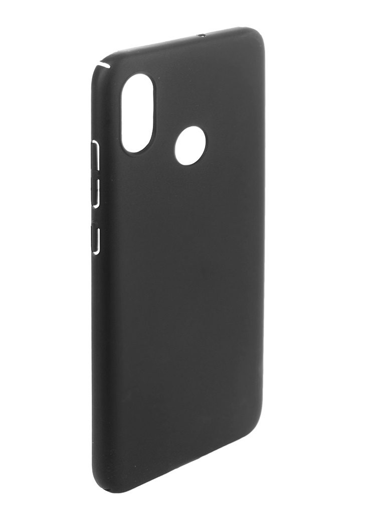 Чехол Brosco для Xiaomi Mi 8 Black XM-MI8-4SIDE-ST-BLACK